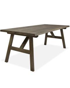 Lankkupöytä tammea ulkokäyttöön
