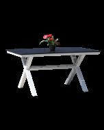 Lyon -ruokapöytä X-jalka, 150x90 cm
