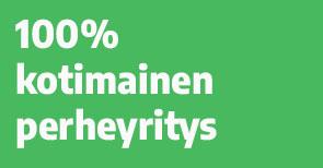 100% Suomalainen perheyritys